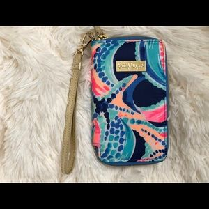 Lilly Pulitzer wallet/iPhone case